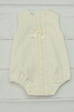 Granlei 1980 Ivory Lace Onesie - Product List Image