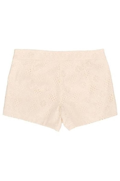 Judith March Ivory Lace Shorts - Alternate List Image