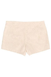 Judith March Ivory Lace Shorts - Side cropped