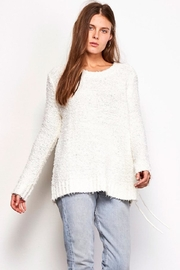 Jack by BB Dakota Ivory Lace Sweater - Product Mini Image