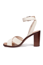 Dolce Vita Ivory Leather Heel - Front cropped