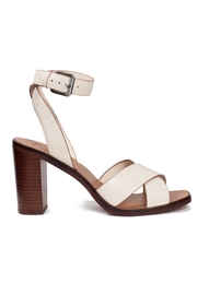 Dolce Vita Ivory Leather Heel - Front full body