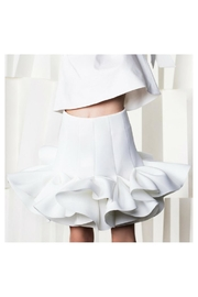 Nikolia Ivory Lotus Skirt - Front full body