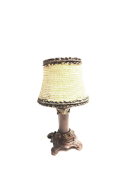House of Zog Ivory Pearl Candle Lamp - Product Mini Image