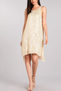 Verty Ivory Sequin Dress - Alternate List Image