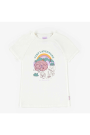 Souris Mini Ivory Short-Sleeve T-Shirt - Front cropped