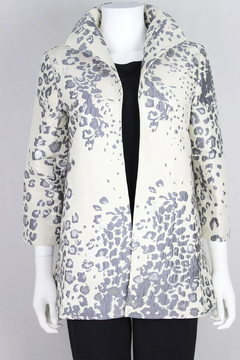 Grace Chuang Ivory & Silver Jacket - Product List Image