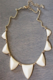 Wild Lilies Jewelry  Ivory Statement Necklace - Product Mini Image