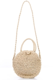 Compendium boutique Ivory Straw Purse - Product Mini Image