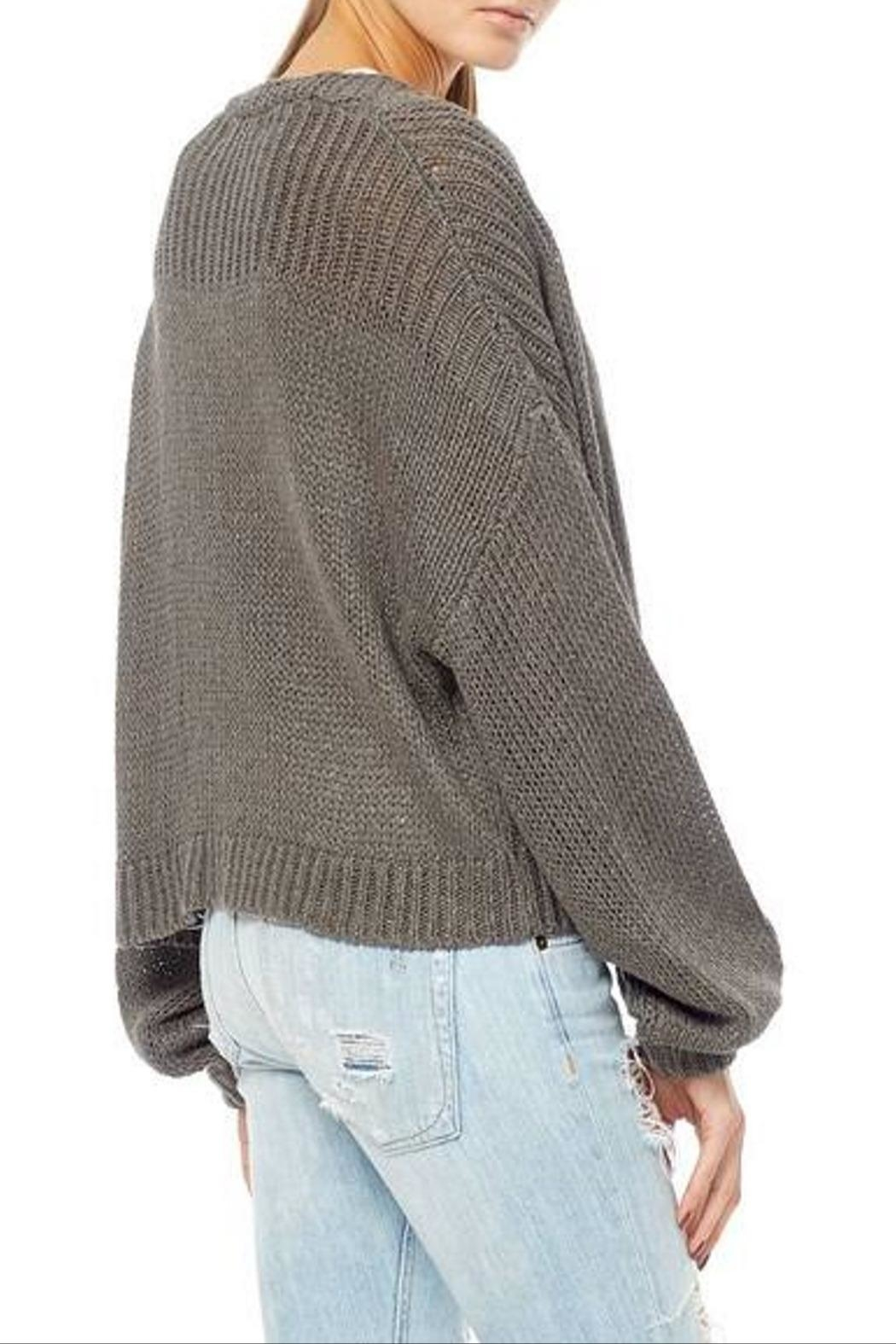 360Sweater Ivory Sweater - Side Cropped Image