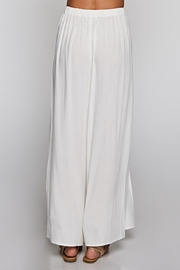 Lovestitch Ivory Wrap Pant - Front full body