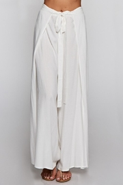 Lovestitch Ivory Wrap Pant - Product Mini Image