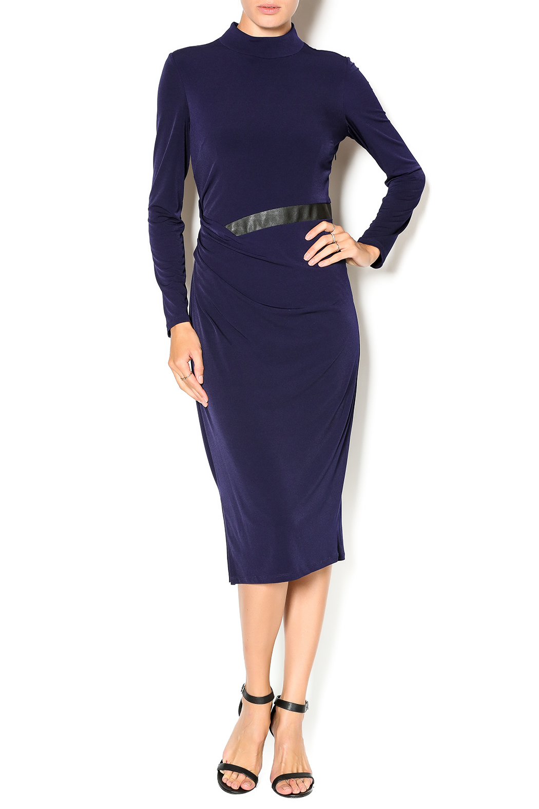 ivy + blue Mock Neck Dress from New Jersey by Ideal ...