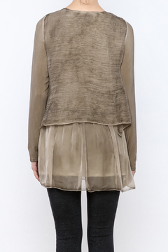 Ivy and Lace Tan Tunic - Alternate List Image