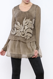 Ivy and Lace Tan Tunic - Product Mini Image