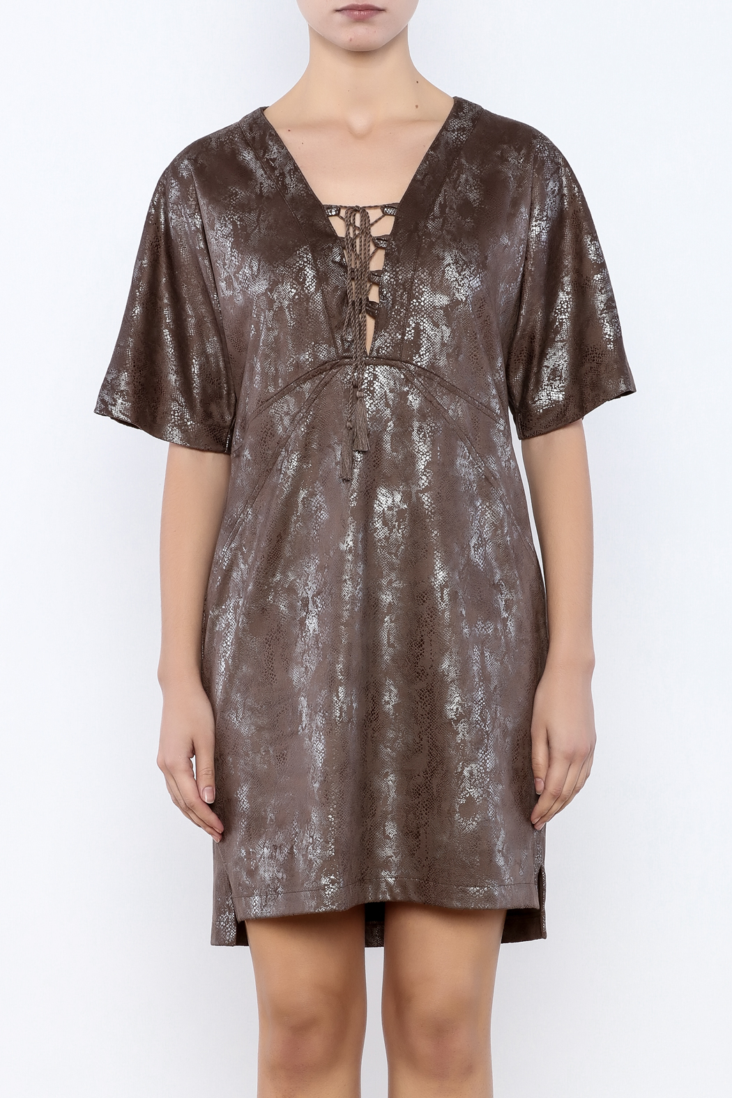 Ivy Jane / Uncle Frank  Polly Python Dress - Side Cropped Image