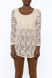 Ivy Jane Baby Doll Lace Top - Side cropped