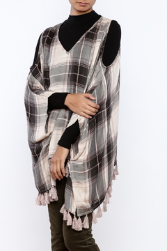 Ivy Jane Cold Shoulder Poncho - Product List Image