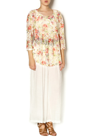 Ivy Jane Floral Nancy Top - Front full body