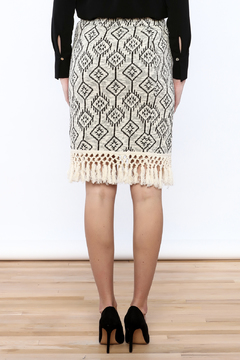Shoptiques Product: Little Fringed Pencil Skirt