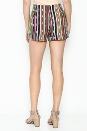 Ivy Jane Serape Printed Shorts - Back cropped