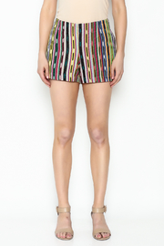 Ivy Jane Serape Printed Shorts - Front full body