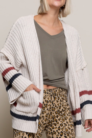 POL  Ivy League Cardigan - Front cropped