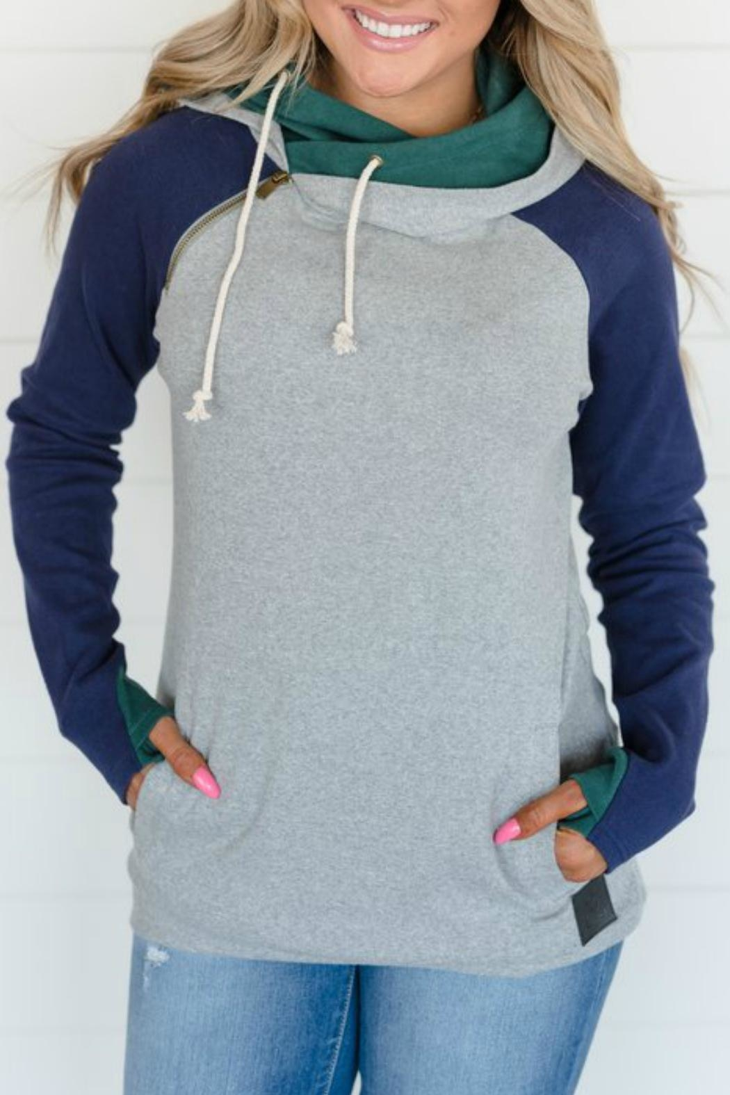 Ampersand Ivy League Double-Hoodie - Main Image