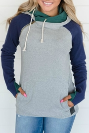 Ampersand Ivy League Double-Hoodie - Front cropped