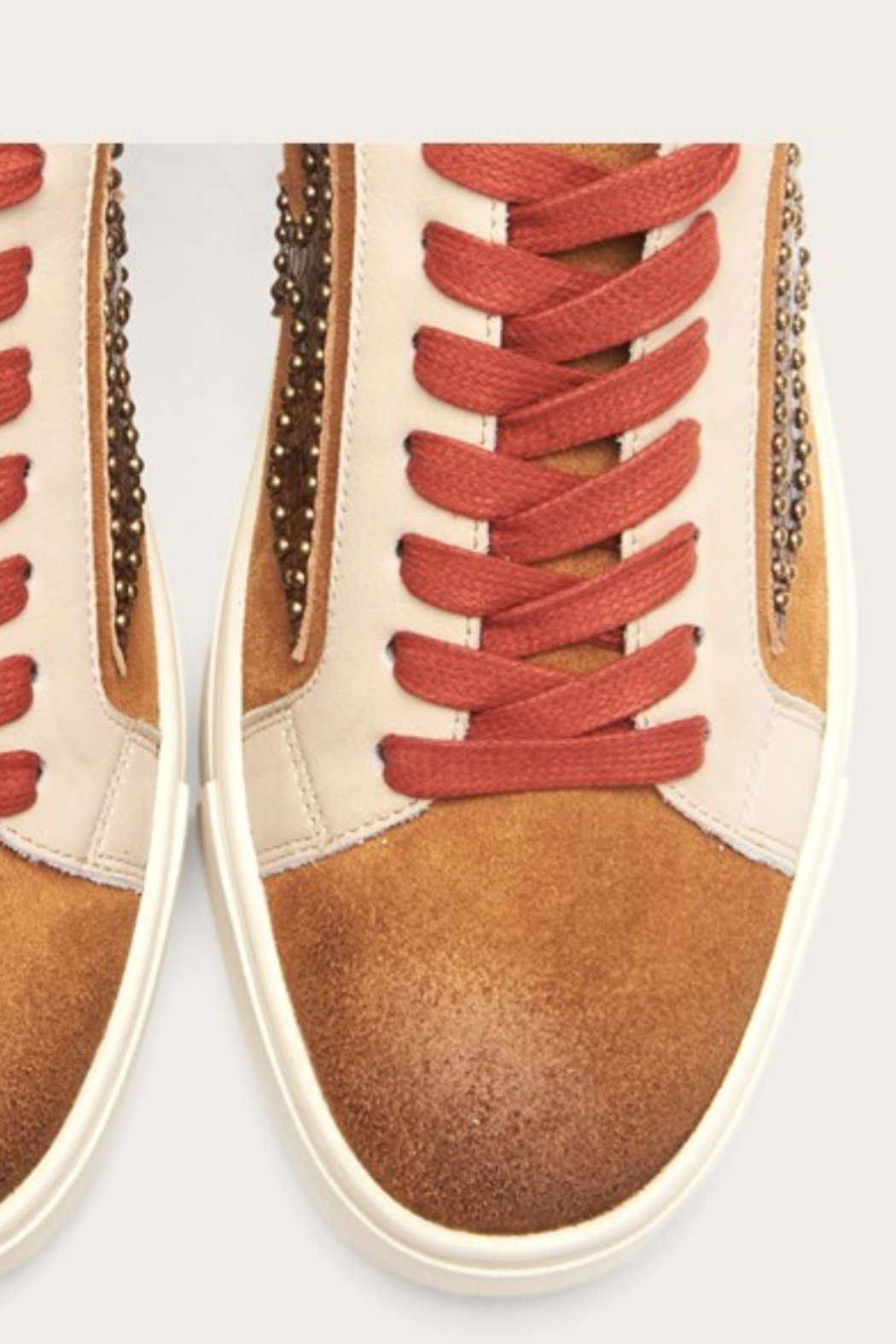 Frye Ivy Logo Patch Low Sneaker - Side Cropped Image