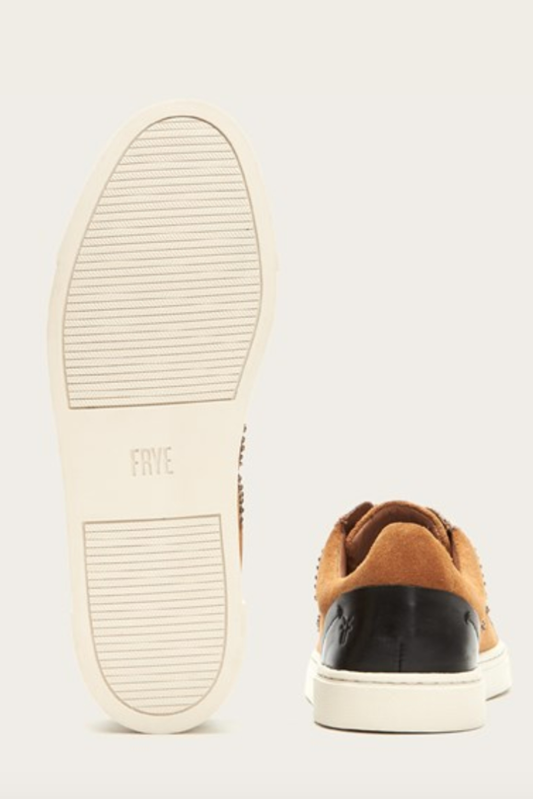 Frye Ivy Logo Patch Low Sneaker - Front Full Image