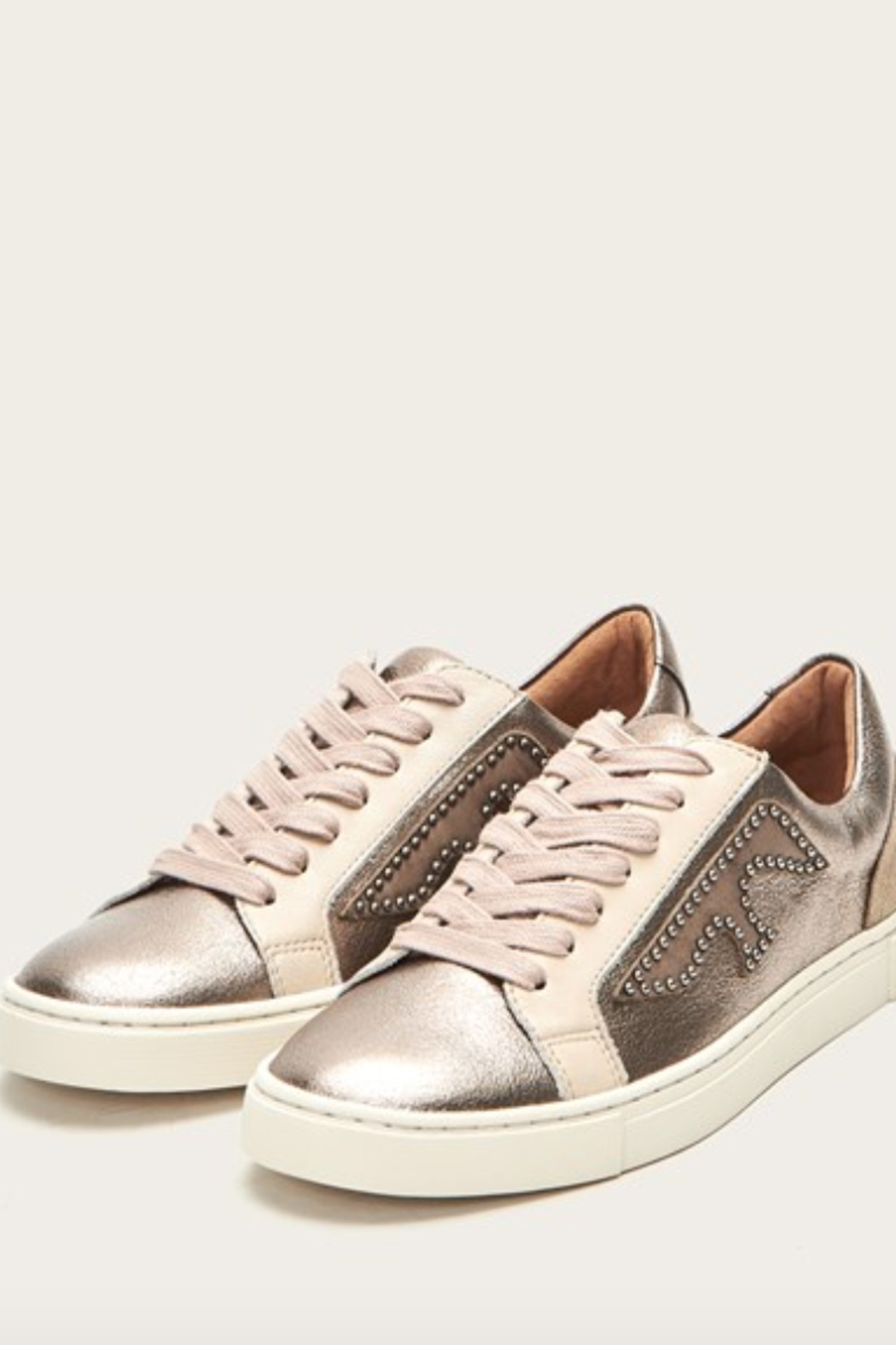 Frye Ivy Logo Patch Low Sneaker - Main Image