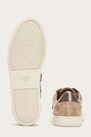 Frye Ivy Logo Patch Low Sneaker - Front full body