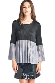 Nabisplace Ivy Pleated Blouse - Product Mini Image