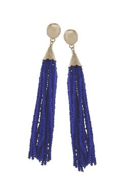 Shoptiques Product: Bead Tassel Earring
