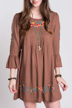 Shoptiques Product: Bird Embroidery Dress
