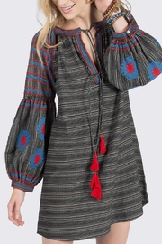 Ivy Jane Striped Aztec Tunic - Product Mini Image