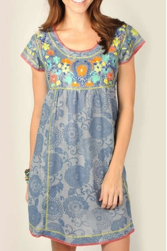 Ivy Jane Blue Print Dress - Alternate List Image