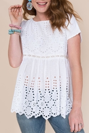 Ivy Jane Eyelet Baby-Doll Top - Product Mini Image