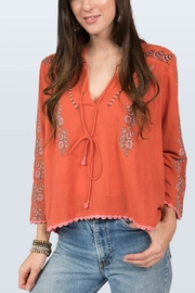 Ivy Jane Embroidered Ginger Top - Product Mini Image