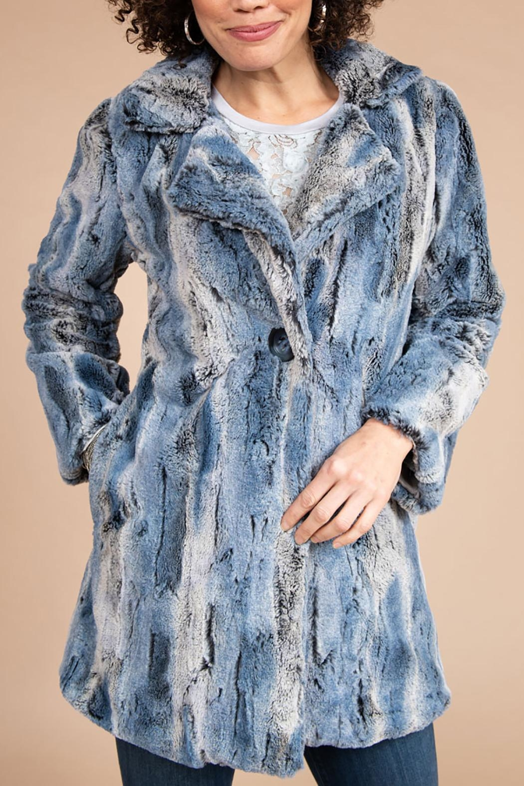 Ivy Jane Faux Fur Jacket - Main Image