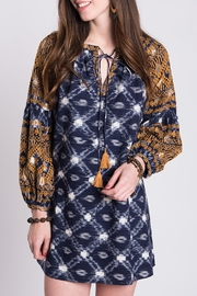 Ivy Jane Gold Embroidery Aztec Dress - Product Mini Image