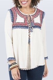 Ivy Jane Jacket With Fringe - Front cropped