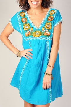 Ivy Jane Turquoise Dress - Alternate List Image
