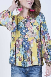 Ivy Jane Yellow Floral Top - Product Mini Image