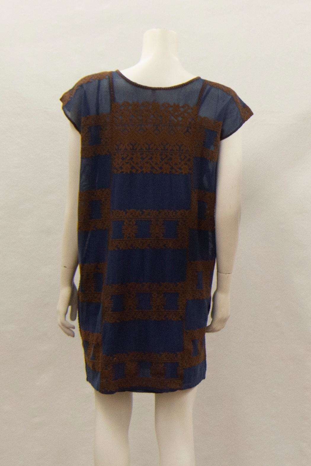Ivy Jane / Uncle Frank  Aztec Embroidery Dress - Front Full Image