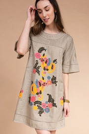 Ivy Jane / Uncle Frank  Chicken Embroidery Dress - Product Mini Image