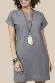 Ivy Jane / Uncle Frank  Denim Pocket Dress - Product Mini Image