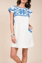 Ivy Jane / Uncle Frank  Embroidered Shift Dress - Product Mini Image