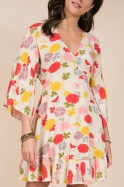 Ivy Jane / Uncle Frank  Floral Dolman Dress With Ruffle - Product Mini Image
